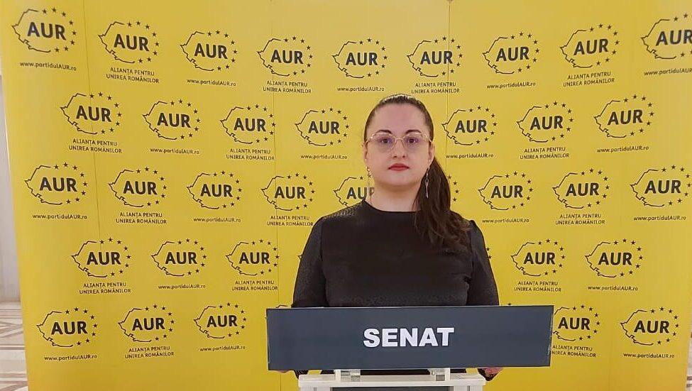 Rodica Boancă: AUR, singurul partid care apără românii prăduiți de bănci