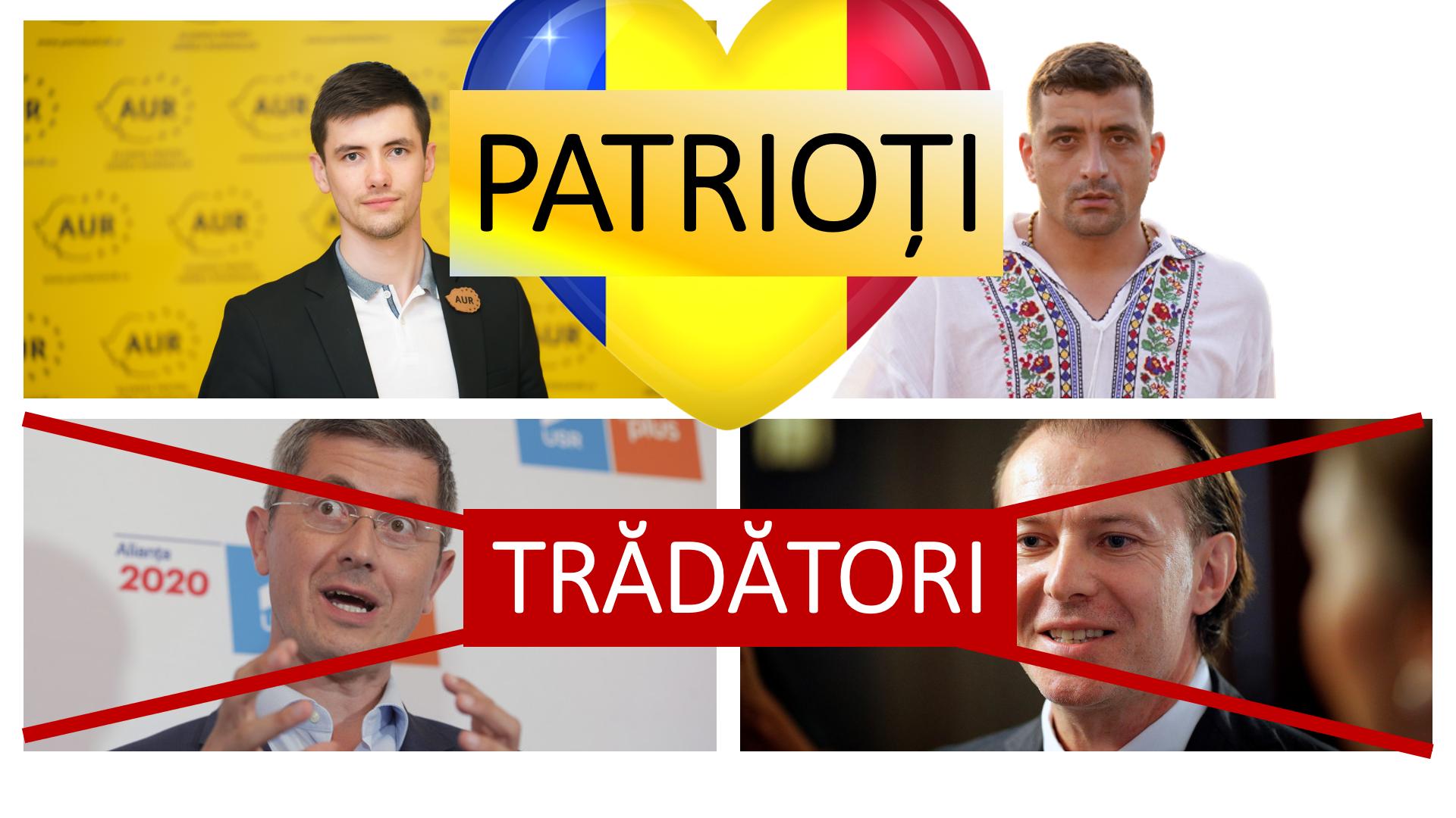 Trădătorii de la PNL și de la USR au atacat permanent singurul partid românesc ce a candidat în Basarabia(AUR) și au susținut un partid antiromânesc