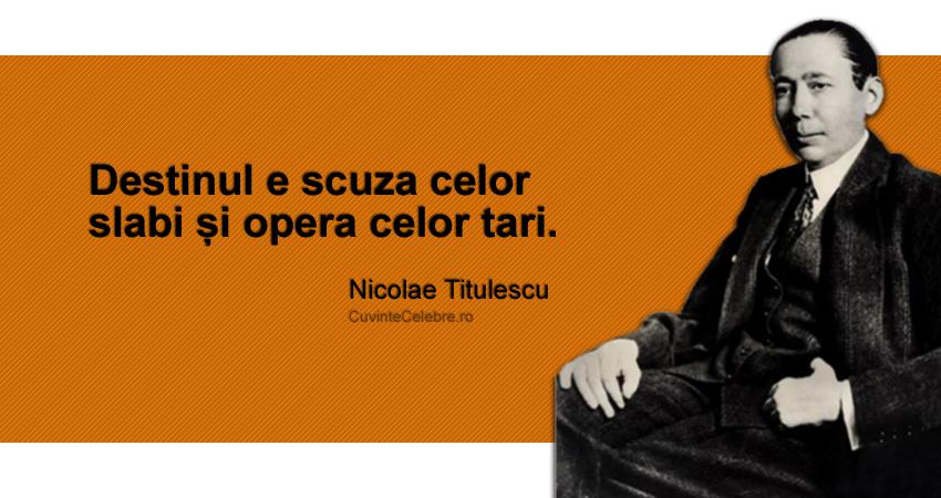 Nicolae Titulescu – politician complet, un om al păcii şi înțelegerii internaţionale