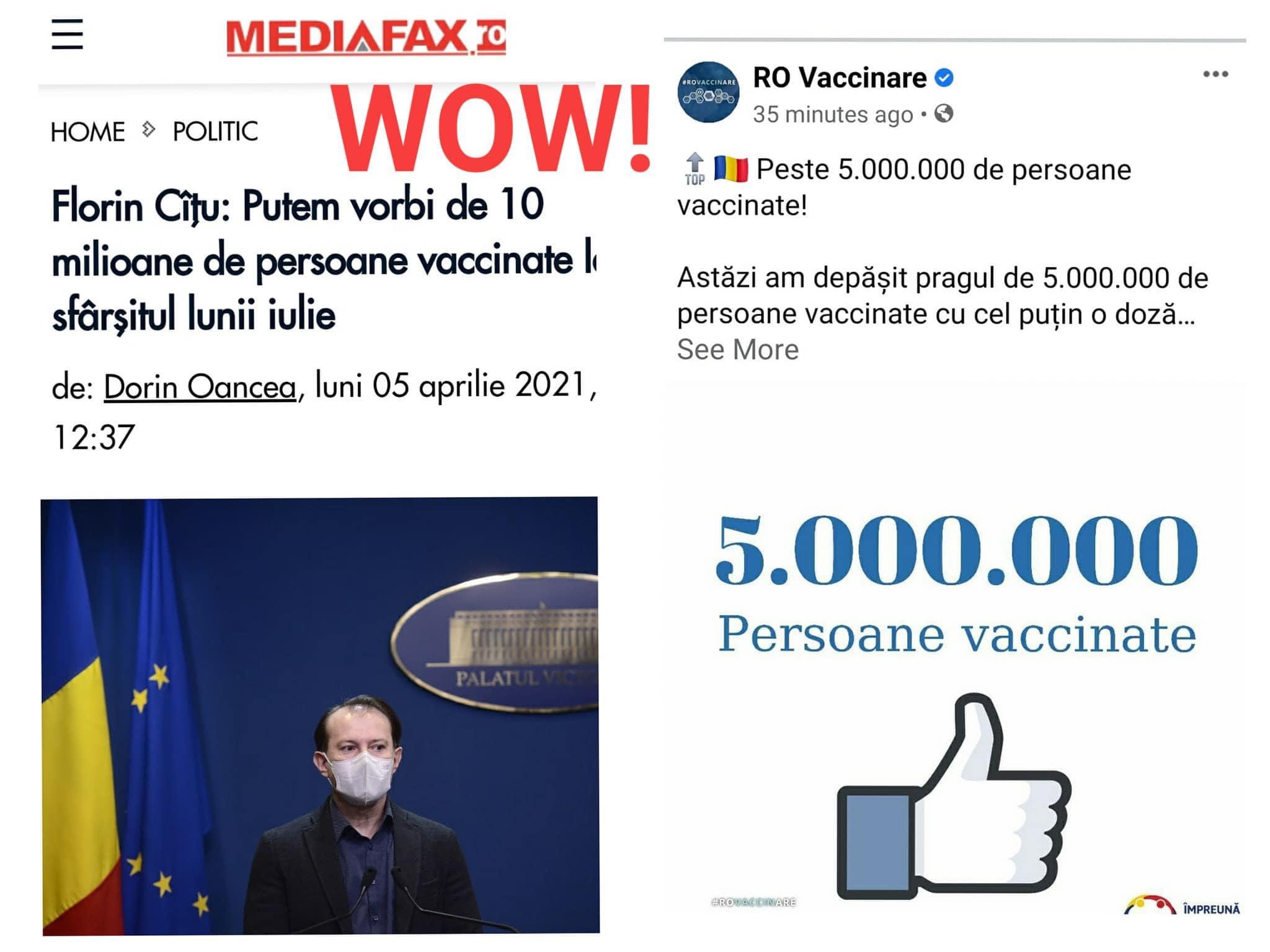 Voiculescu: Românii trebuie să știe că Florin Cîțu îi ia de proști