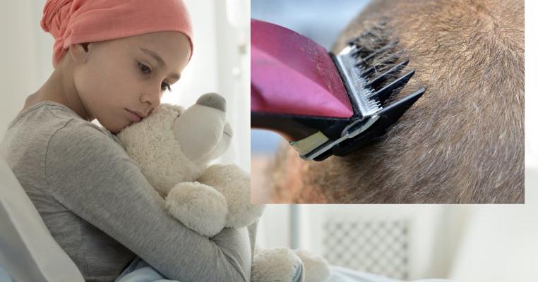 Mi-am tuns fiica zero pentru că a râs de o colegă bolnavă de cancer și i-a smuls peruca