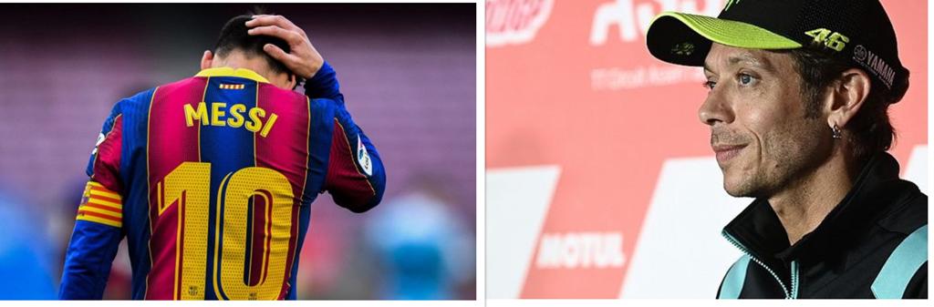 Zi importantă pentru sportul mondial: Leo Messi pleacă de la Barcellona. Legendarul Valentino Rossi se retrage din MotoGP