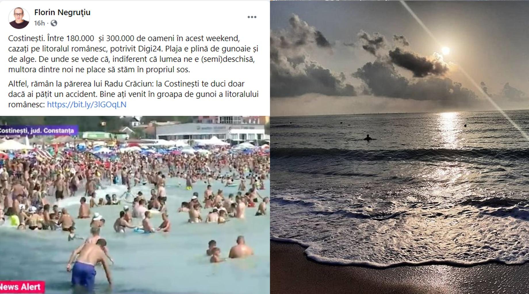 DIGI24 denigrează turismul românesc și românii care merg pe litoral! Apa e curată, plajele noastre sunt de vis