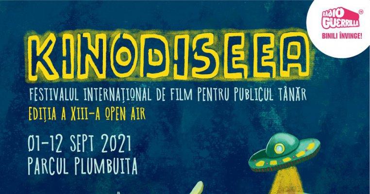 Cea de-a XIII-a ediție KINOdiseea debutează, între 1 și 12 septembrie, în aer liber, în Parcul Plumbuita