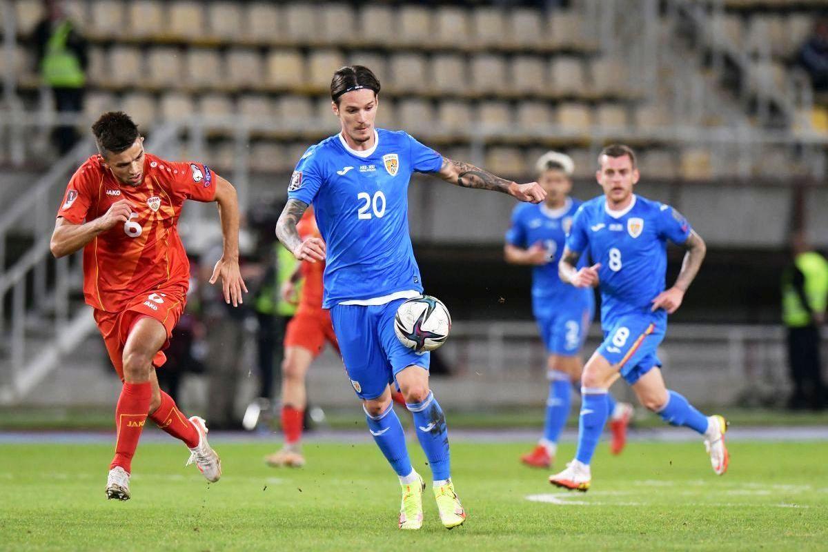 Preliminarii CM 2022, Grupa J: Macedonia de Nord – România 0-0. Naționala noastră obține 7 puncte din 9 posibile și se află la un punct de Armenia