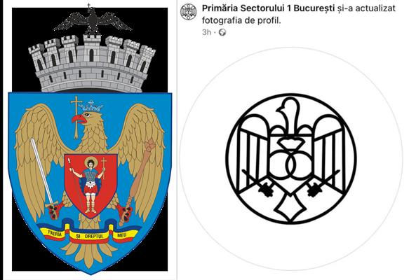 """Clotilde Armand este acuzată că a schimbat emblema sectorului 1: L-a eliminat pe Sf. Dumitru și l-a înlocuit cu """"cocoșul din Punguța cu doi bani"""""""