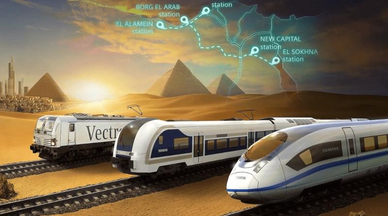 Egiptul construiește linii de cale ferată de mare viteză de 4,5 miliarde de dolari – 60m.ro – 4media.INFO