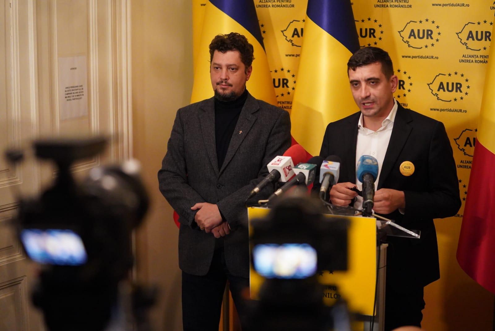 AUR: Susținem un guvern de uniune națională format din specialiști – 60m.ro
