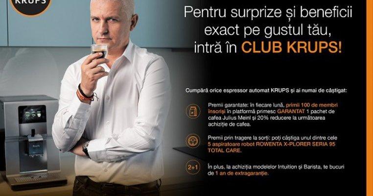 Intră în Club Krups și câștigă premii garantate!
